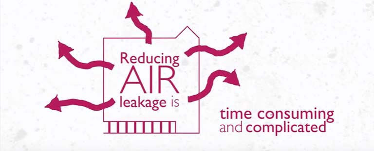 air leakage image