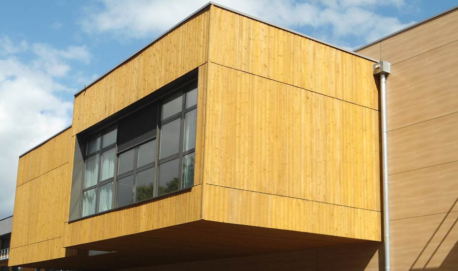 Exterior Treated Timber Wood Cladding A Proctor Group Ltd