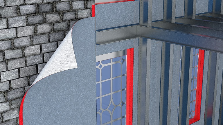 Spacetherm Wall Liner Illustration