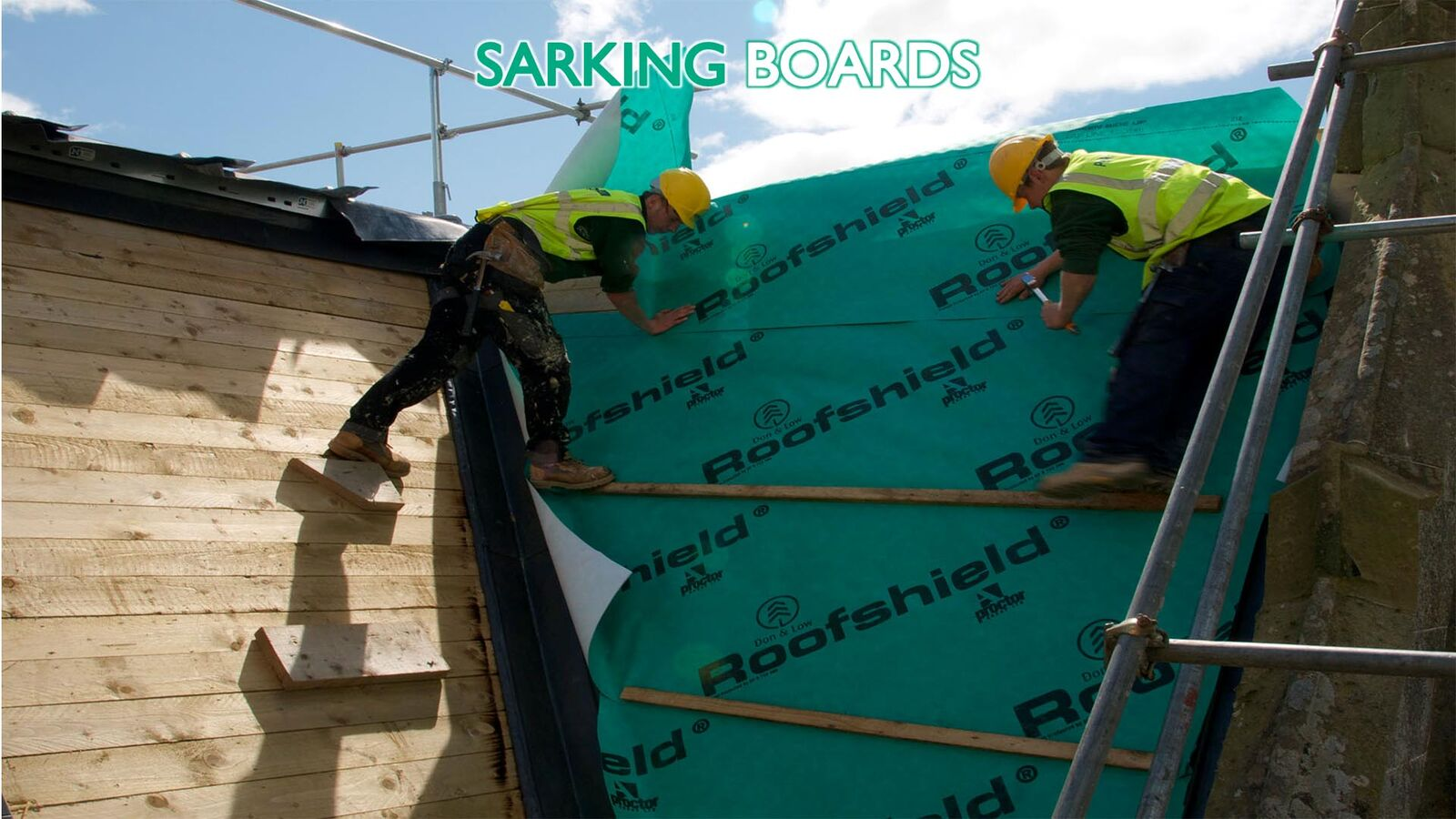sarking boards