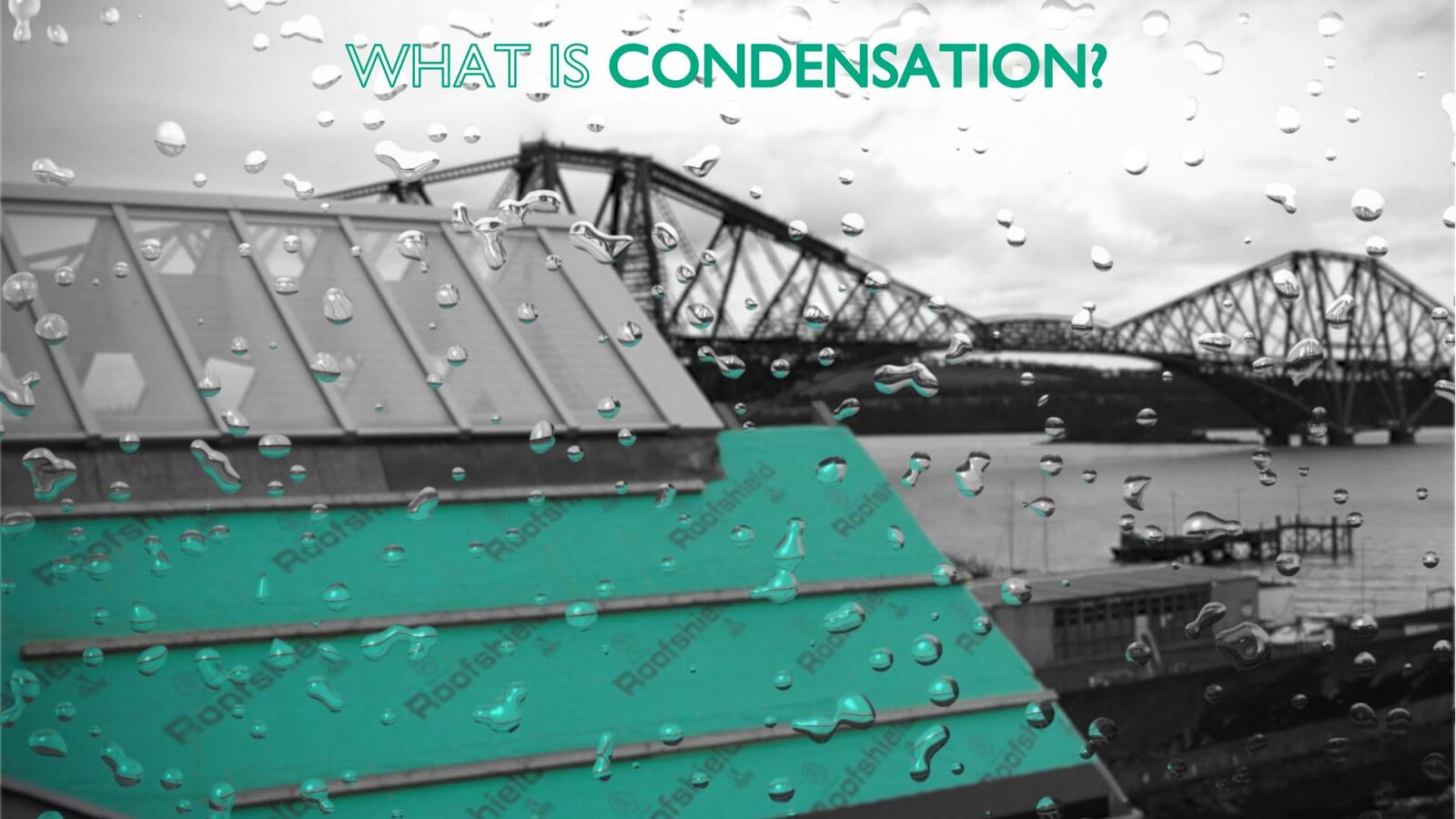 Roofshield - What is condensation?